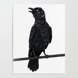 Verklempt Crow Poster