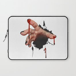 Bloody Zombie Hand Laptop Sleeve