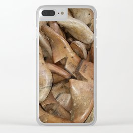 Shoes, Shoe Forms, Vintage Clear iPhone Case