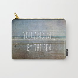 You and me, by the sea Carry-All Pouch