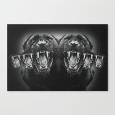 Panther Power Canvas Print