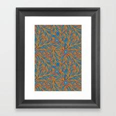 psychedelic Art Nouveau  Framed Art Print