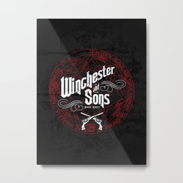 Winchester & Sons Metal Print