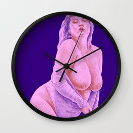 Liberated color 3 Wall Clock