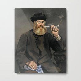 Édouard Manet - The Smoker Metal Print