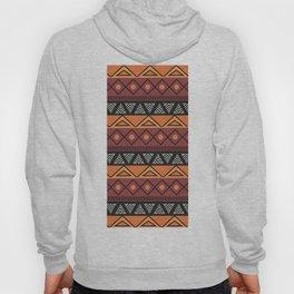 African Tribal Pattern No. 131 Hoody