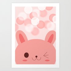 Happy friend Art Print