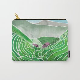 Terraced Rice Paddy Fields Carry-All Pouch
