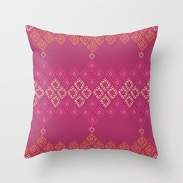 Moroccan Geo Throw Pillow