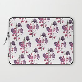 Watercolor Berries in Magenta Laptop Sleeve