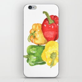 Bell Peppers iPhone Skin
