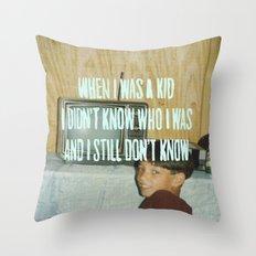 LIL BABY HAIKU Throw Pillow