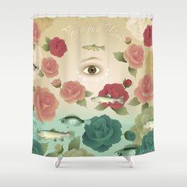 Vaya con dios 2 Shower Curtain