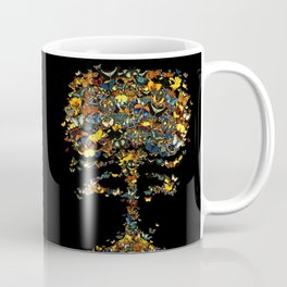 Atomic Butterfly Coffee Mug