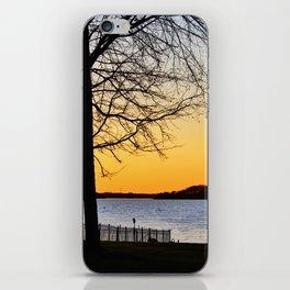 Lakeside Sunset iPhone Skin