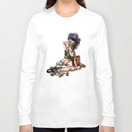 Pin up Grrl, Smelly Long Sleeve T-shirt