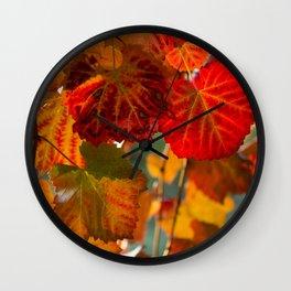 Autumn leaves 1 Wall Clock