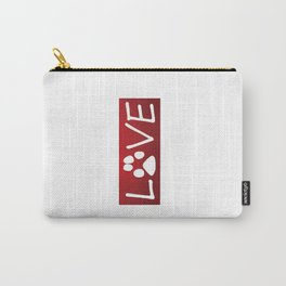 Dogs are Love Carry-All Pouch