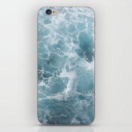 White water waves iPhone Skin