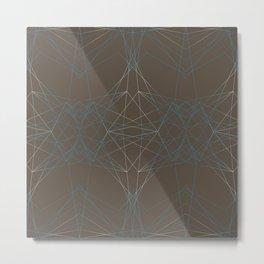 LIGHT LINES ENSEMBLE PATTERN I Metal Print