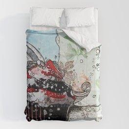 Sugar Daddy - madewithunicorndust by Natasha Dahdaleh Comforters