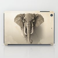 elephant iPad Cases featuring Elephant by Rafapasta