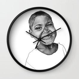 Yogesh the Indian boy Wall Clock
