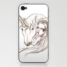 Her first Unicorn iPhone & iPod Skin