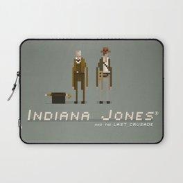 Pixel Art Indiana Jones Laptop Sleeve
