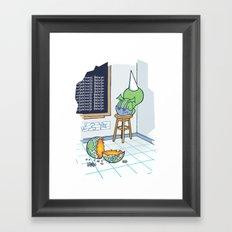 Shallow Ones 2 Framed Art Print