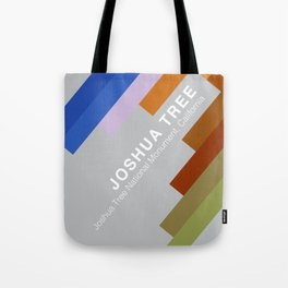 The colors of climbing spots - JOSHUA TREE Tote Bag