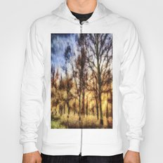 Pastel Sunset Trees Hoody