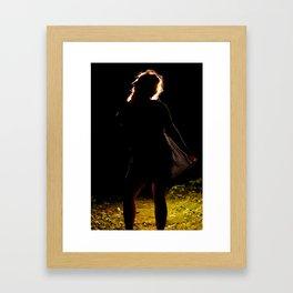 Foreground Framed Art Print