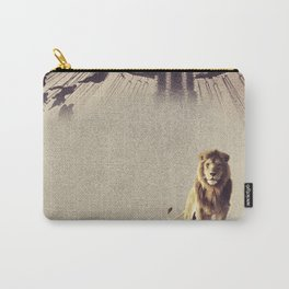 Luna Park Lion Carry-All Pouch