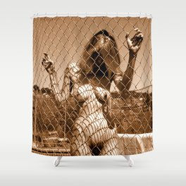 Fenced In (Nude Photography) Shower Curtain