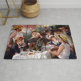 Pierre Auguste Renoir Luncheon of the Boating Party Rug