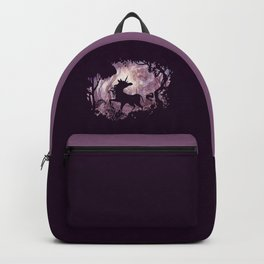 Unicorn in magical forest Backpack