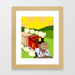 Bonifacio The Train Framed Art Print