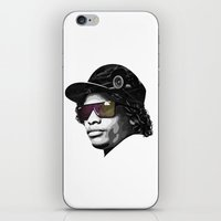 lakers iPhone & iPod Skins featuring Eazy Muthafuckin E by Rogemil Velasco