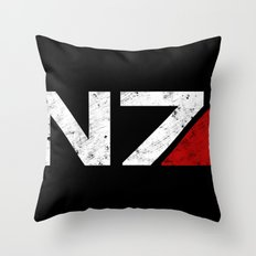 N7 Throw Pillow