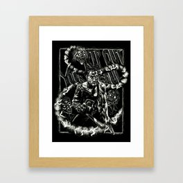 Rip Out Your Soul Framed Art Print