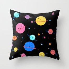 Hula Universe Throw Pillow