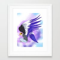 asexual Framed Art Prints featuring Asexual by Jack Bockover