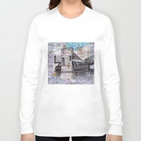 ohio state Long Sleeve T-shirts featuring Ohio by Ursula Rodgers