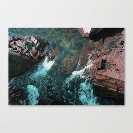 Icelandic waters Canvas Print