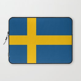 flag of sweden Laptop Sleeve