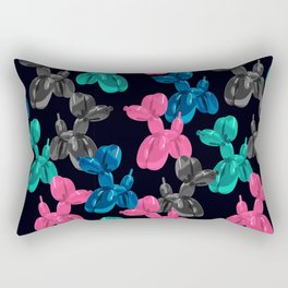 Balloon Dog Pattern Rectangular Pillow