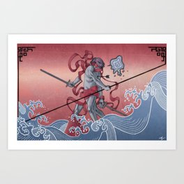 Sea of Ideas Art Print