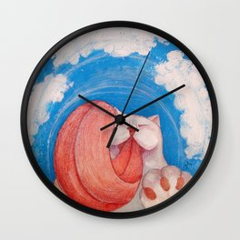 Round Kisa Wall Clock