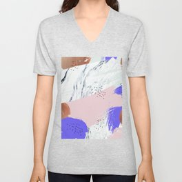Unfolding Significance #society6 #decor #buyart Unisex V-Neck